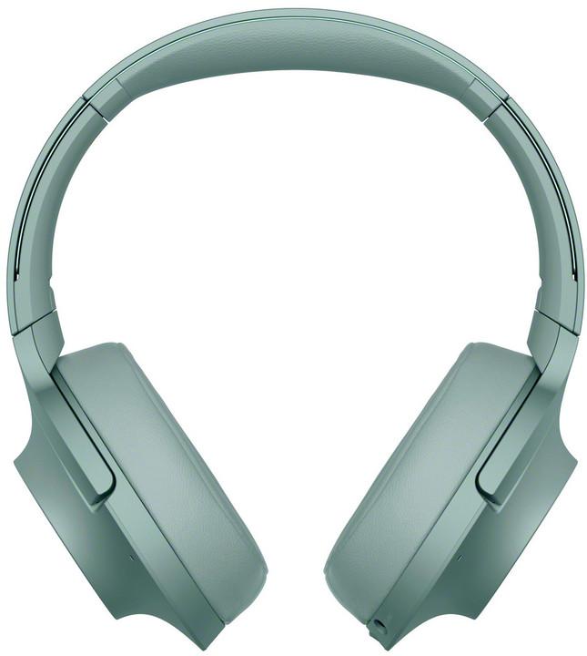 Sony WH-H900N, zelená