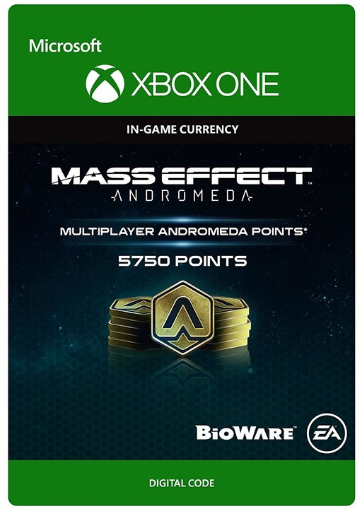 Mass Effect: Andromeda - 5750 Points (Xbox ONE) - elektronicky