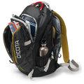 "DICOTA Backpack Active 15,6"", černá/žlutá"