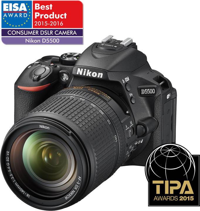 Nikon D5500 + 18-140 AF-S DX VR