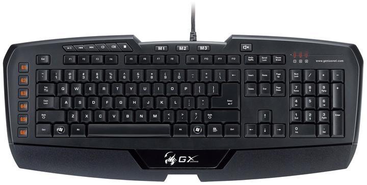Genius GX-Gaming Imperator, černá