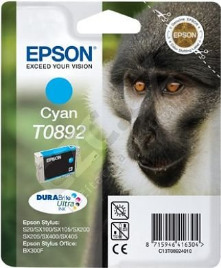 Epson C13T08924010, azurová