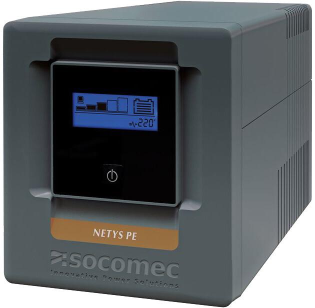 Socomec Netys PE 1500, 840W, USB, LCD