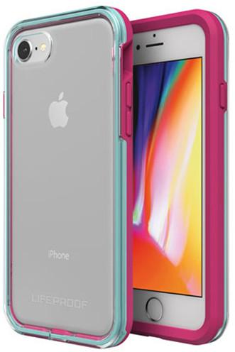 LifeProof SLAM ochranné pouzdro pro iPhone 7/8 průhledné - fialovo zelené