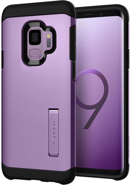 Spigen Tough Armor pro Samsung Galaxy S9, lilac purple