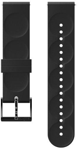 Suunto Urban 1 silikonový řemínek velikost S 20mm, černý/černý