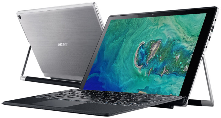 Acer Switch Alpha 12 (SA5-271-39RJ), stříbrná