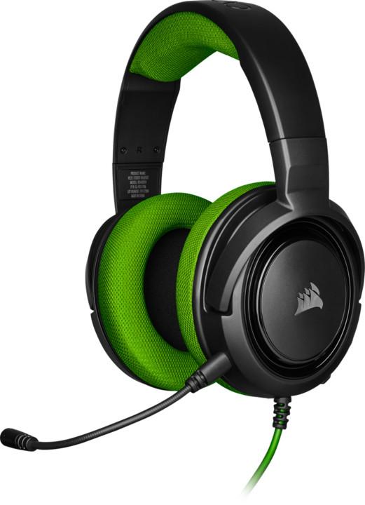 Corsair HS35 Stereo, zelená