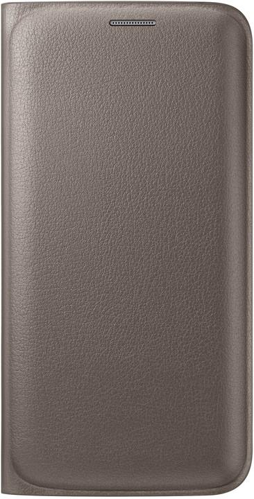Samsung pouzdro EF-WG925P pro Galaxy S6 Edge (G925), zlatá