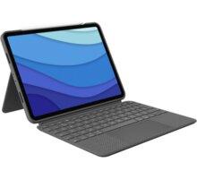 """Logitech ochranný kryt s klávesnicí Combo Touch pro Apple iPad Pro 11"""" (1., 2., 3. generace), UK, še"""