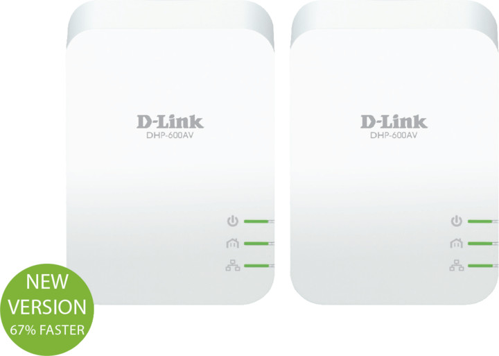 D-Link DHP-601AV/E, Powerline Starter Kit
