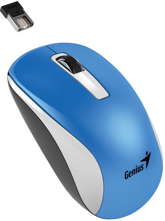 Genius NX-7010, bezdrátová, bílá/modrá