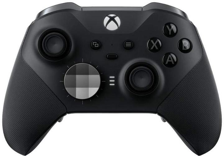 Xbox ONE X Bezdrátový ovladač, Elite Series 2, černý (PC, Xbox Series, Xbox ONE)