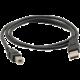 C-TECH kabel USB A-B 3m 2.0, černá