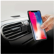 CELLY GHOSTCOVER Zadní magnetický kryt pro Apple iPhone X, kompatibilní s GHOST držáky, černý