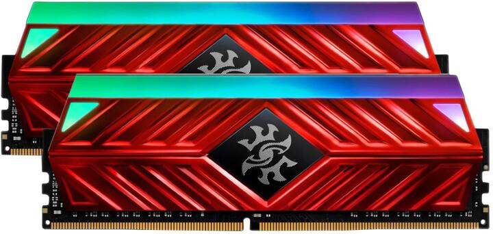 ADATA XPG SPECTRIX D41 32GB (2x16GB) DDR4 2666, červená