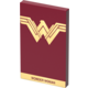 Tribe DC Movie Wonder Worman 4000mAh Power Bank - Červená