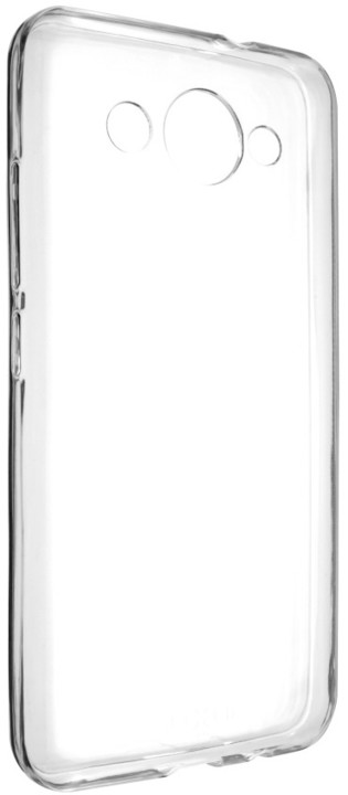 FIXED Skin ultratenké TPU gelové pouzdro pro Huawei Y3 (2017), 0,5 mm, čiré