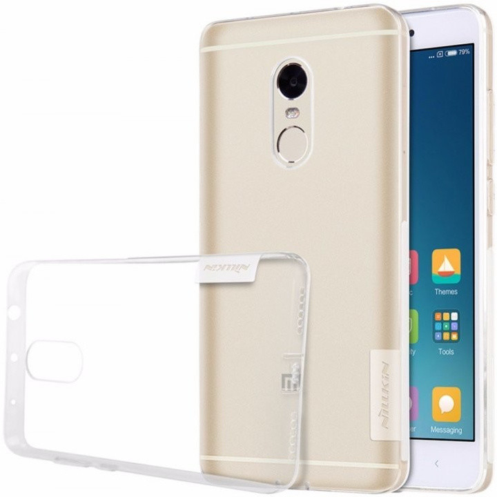 Nillkin Nature TPU Pouzdro pro Xiaomi Redmi Note 4 Global, Transparent