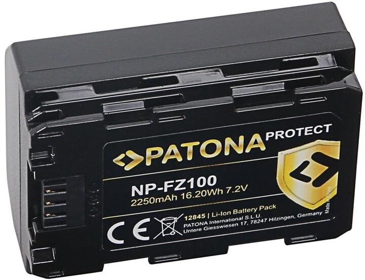 PATONA baterie pro Sony NP-FZ100 2250mAh Li-Ion Protect