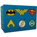 Dárkový set DC Comics - Logos (hrnek, sklenice, podtácky)