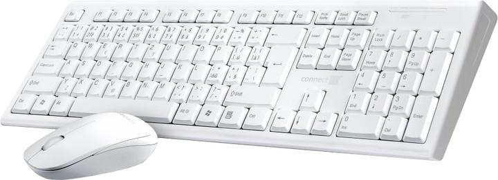 CONNECT IT CI-1118, bezdrátový, bílý, CZ