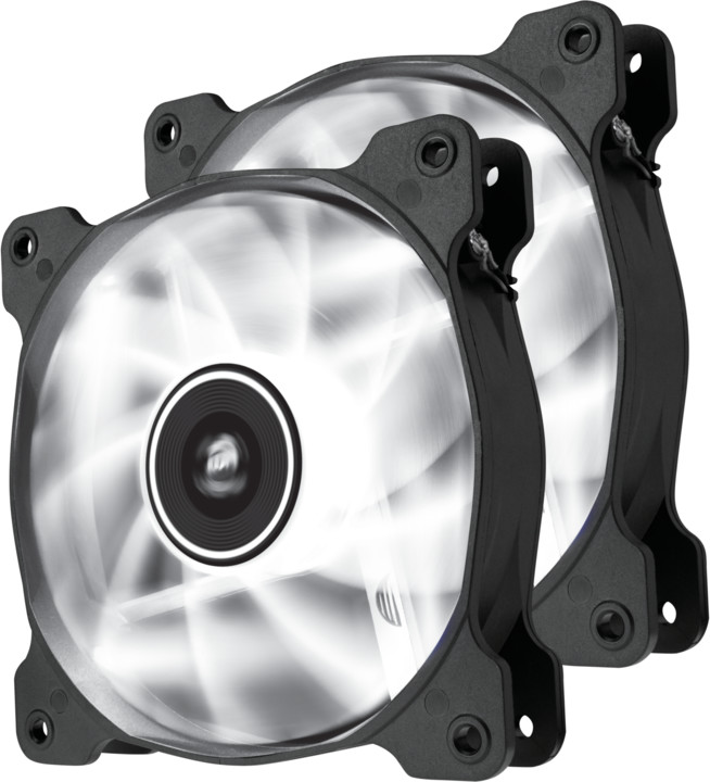Corsair Air Series SP120, bílá led, 120mm, 2ks