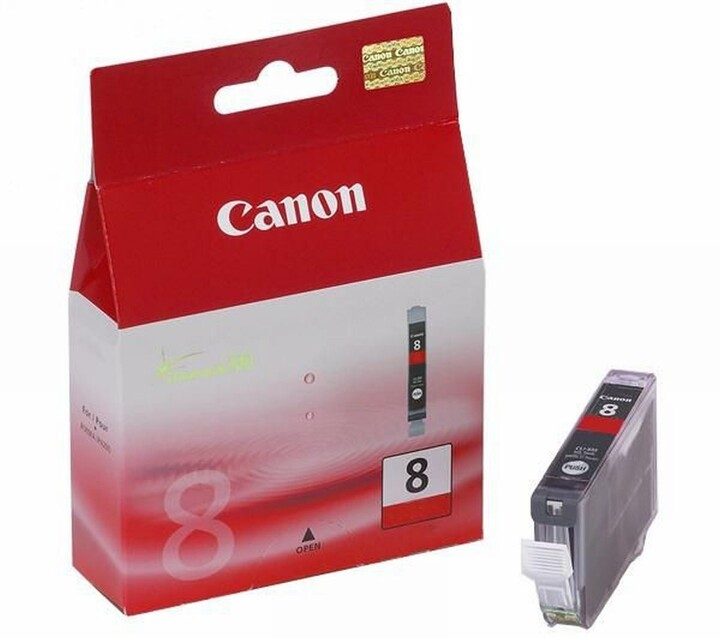 Canon CLI-8R, červená