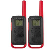 Motorola TALKABOUT T62, červená - B6P00811RDRMAW