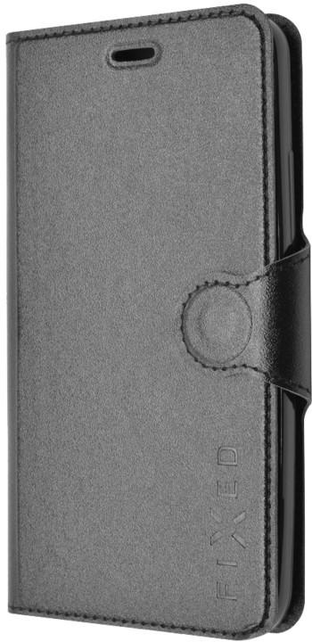 FIXED flipové pouzdro pro Huawei Y6, černá