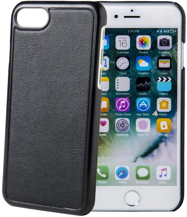 CELLY GHOSTCOVER Zadní magnetický kryt pro Apple iPhone 7/8, kompatibilní s GHOST držáky, černý