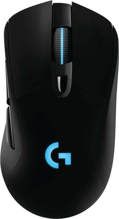 Logitech G703 Lightspeed Hero, černá