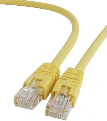 Gembird Cablexpert Patch kabel UTP c5e - 1m - žlutá