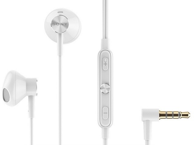 Sony STH30 Stereo Headset, bílá