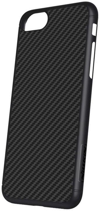 Nillkin Synthetic Fiber ochranný zadní kryt pro iPhone 8, černá