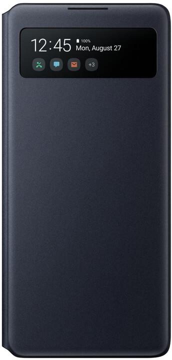 Samsung flipové pouzdro S View pro Samsung Galaxy S10 Lite, černá