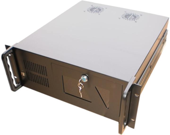 """DATACOM 19"""" IPC, skříň do racku, 480mm, černá"""