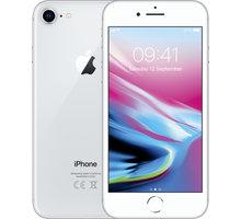 Apple iPhone 8, 64GB, stříbrná  + Apple TV+ na rok zdarma