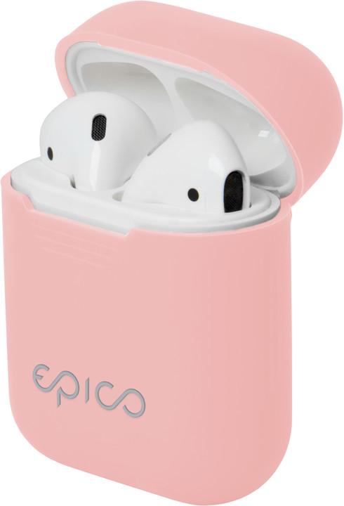 EPICO Airpods pouzdro, růžová