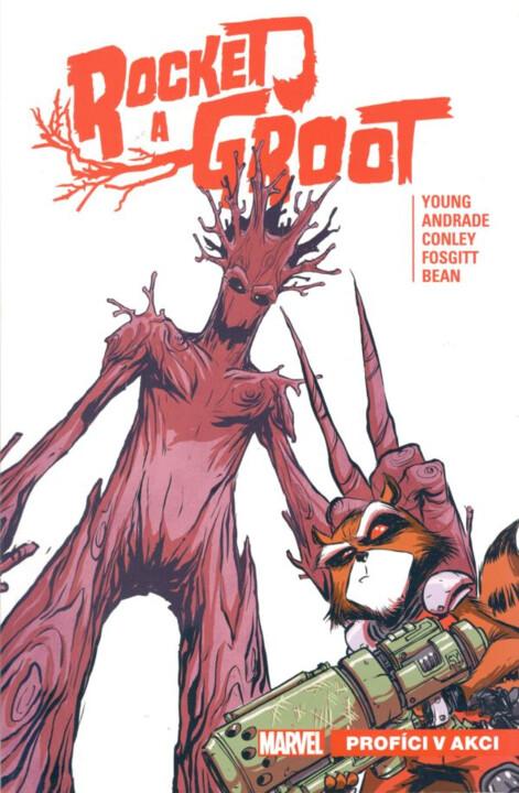 Komiks Rocket a Groot 1: Profíci v akci