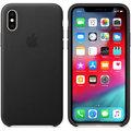 Apple kožený kryt na iPhone XS, černá