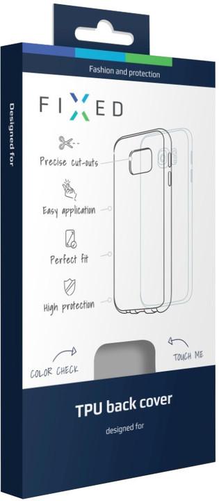 FIXED gelové pouzdro pro Huawei P9 Plus, bezbarvá