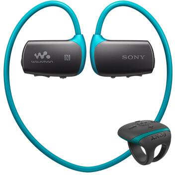 Sony NWZ-WS613, 4GB, modrá