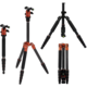 Rollei Compact Traveler No 1 Carbon/ Zátěž 8kg/ Vytažený 142 cm/ Karbon/ Oranžový