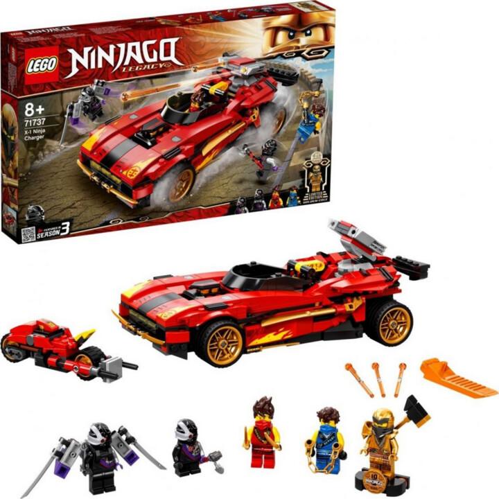 LEGO® NINJAGO® 71737 Kaiův červený bourák