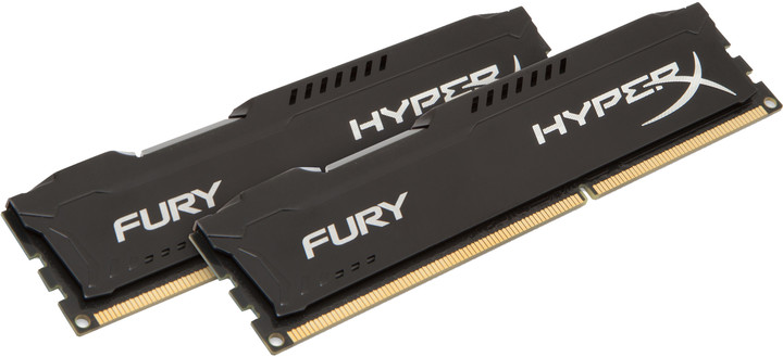 HyperX Fury Black 8GB (2x4GB) DDR3 1600
