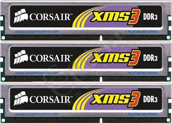 Corsair XMS3 6GB (3x2GB) DDR3 1333 (TR3X6G1333C9)
