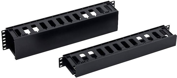"""Triton vyvazovací panel RAB-VP-X30-A1, 19"""", 1U, plastový"""