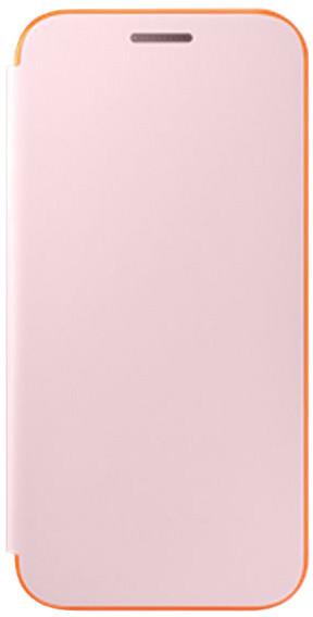 Samsung Galaxy A5 2017 (SM-A520P), flipové pouzdro, růžové