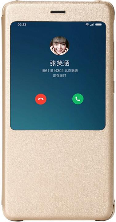 Xiaomi Redmi Note 4 Smart view flip gold